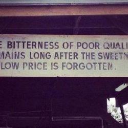 quality and price